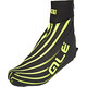 Alé Cycling Spirale Waterresist Shoecover black-fluo yellow